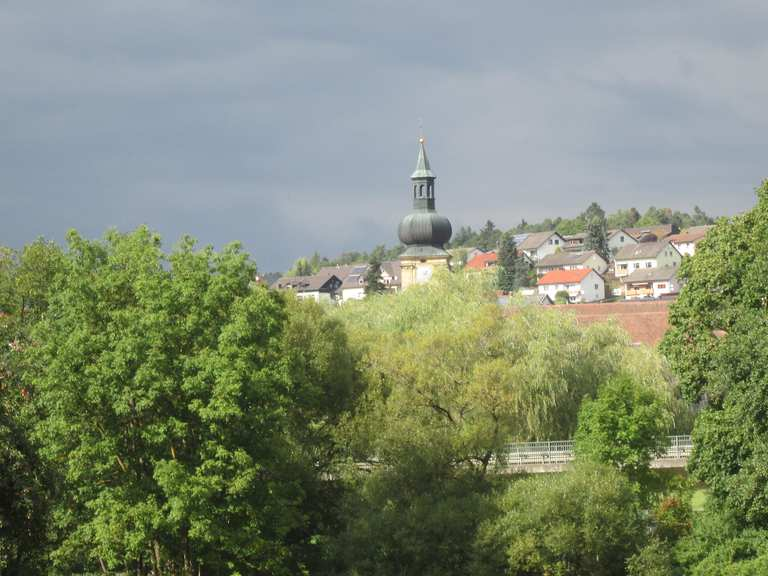 Vilstal-Radweg: Abschnitt Amberg – Schmidmühlen