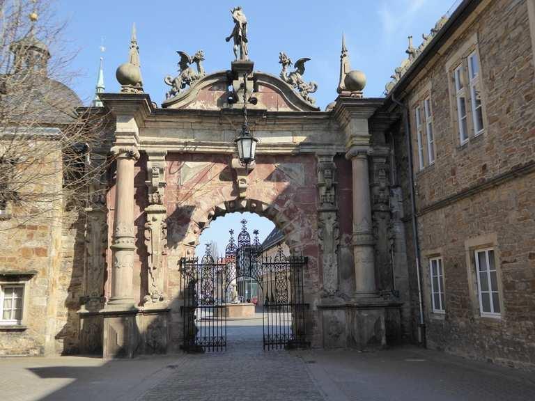 Singletrail porta westfalica