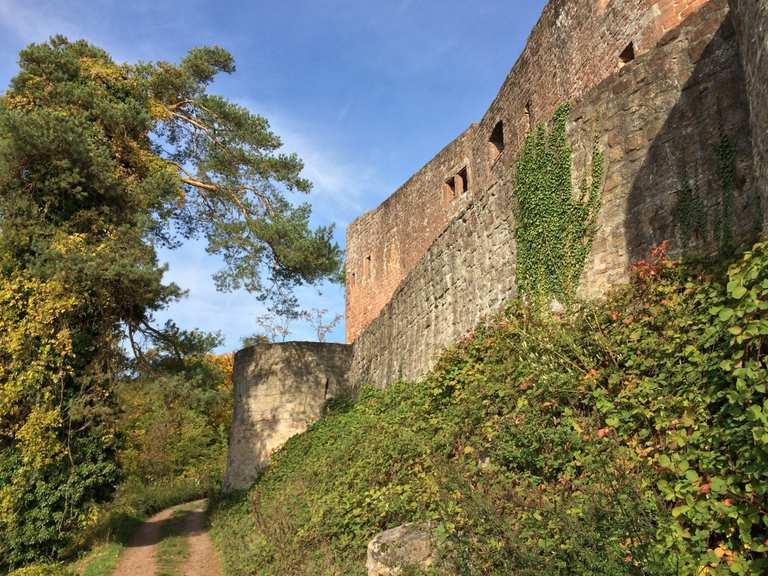 Burg Landeck - Klingenmünster, Südliche Weinstraße | Hiking Tips ...