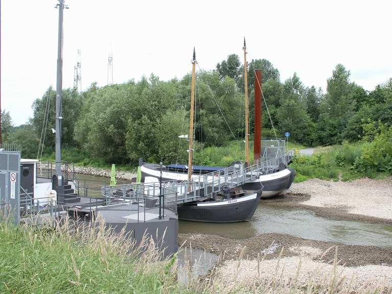Schiffsbrücke Leverkusen