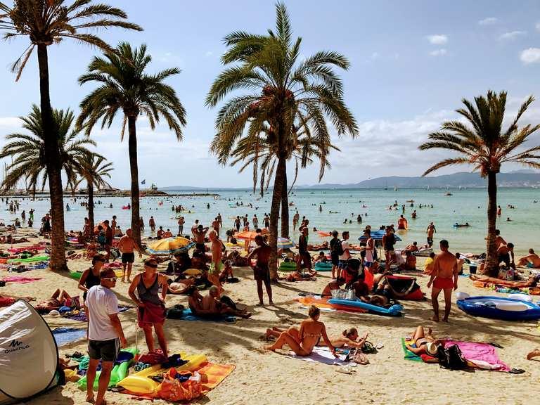 Llucmajor Plaja De Plama Platja De Palma Loop From
