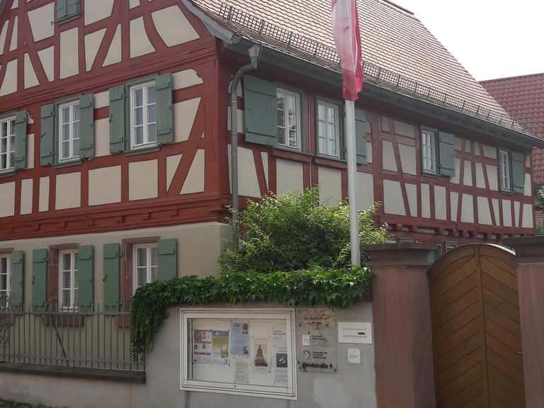 Radweg Nauheim-Trebur – Am Bensheimer Hof Runde von Riedstadt ...