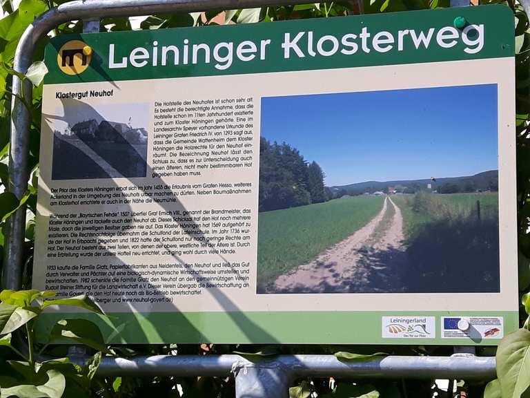 Klosterschänke Höningen – Höningen Runde von Carlsberg | Wanderung ...
