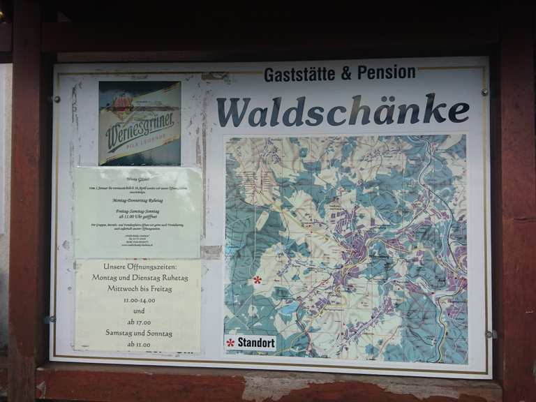 Waldschänke Lindenau - Schneeberg, Erzgebirgskreis | Wandertipps ...