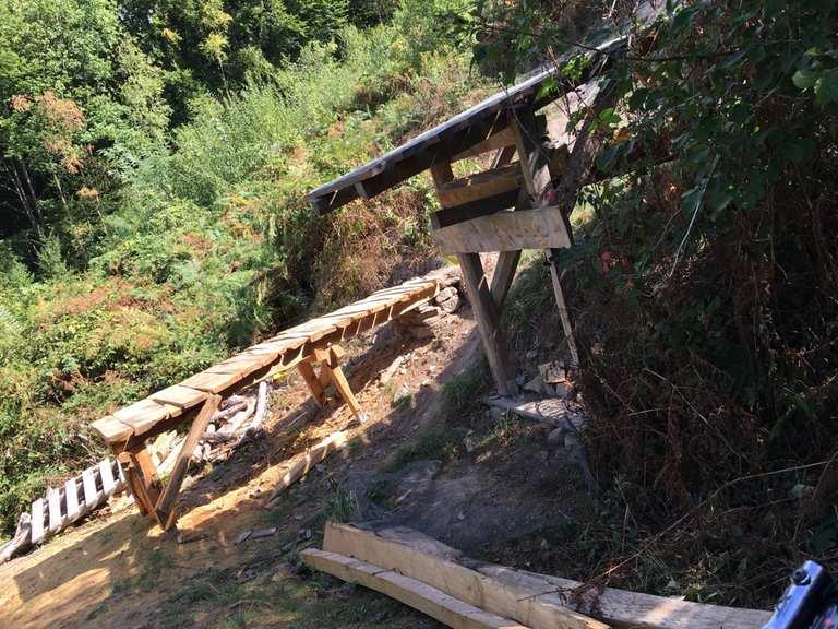 Strommasten Downhill