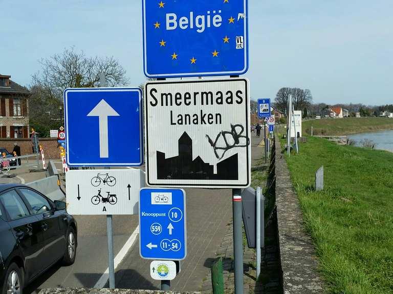 Grenzübergang Niederlande