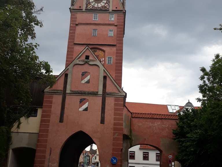 1c5ae67bfda04c Entlang dem Riedbach – Das Kemptener Tor Runde von Memmingen ...