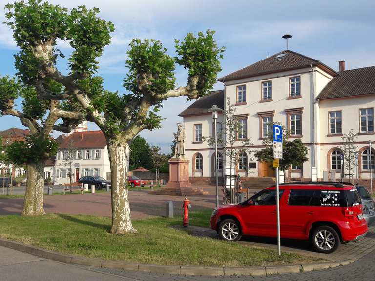 Am Bensheimer Hof – Gaststätte Zum Bootshaus Runde von Darmstadt ...