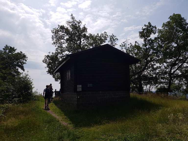 Rahnfels – Klosterschänke Höningen Runde von Altleininger Straße ...