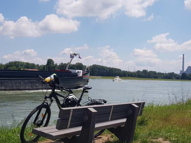 Radtouren Am Rhein