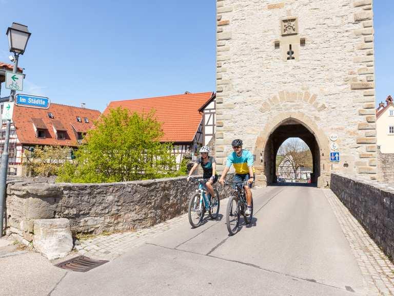 Singletrail schwäbisch hall