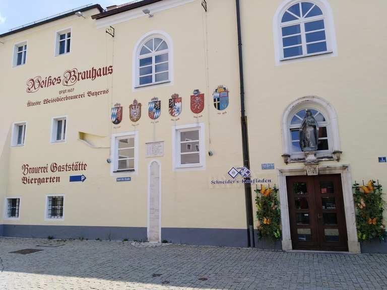 Weisses Brauhaus Kehlheim Kreuzweg Runde Von Kelheim Wanderung Komoot