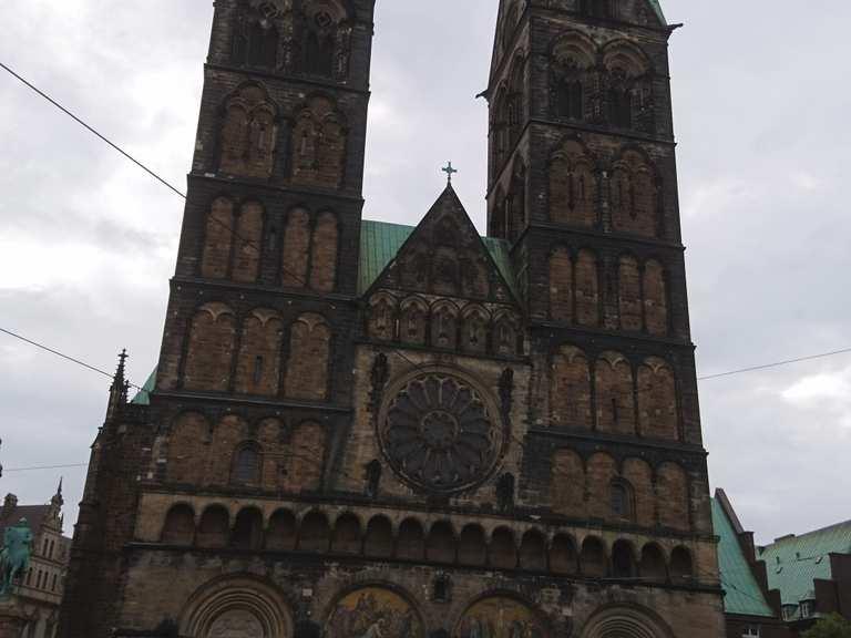 Bremer Dom Höhe