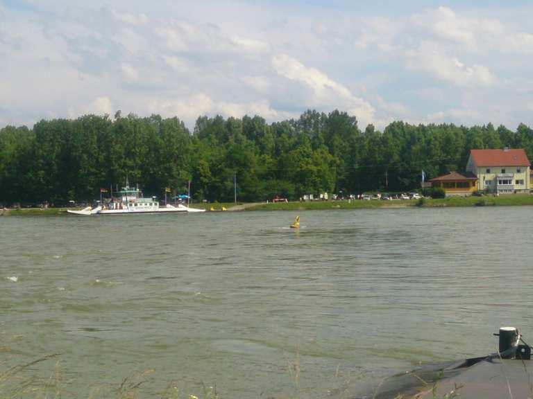 Rheinfähre Neuburgweier Au Am Rhein