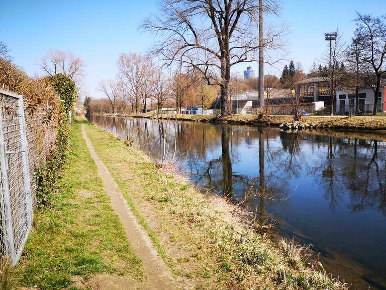 Augsburg singletrail