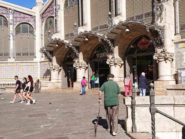 Mercat Central, The Central Market of Valencia  - Valencia