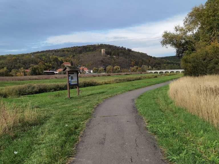 Unstrut bei Sachsenburg - Gorsleben, Kyffhäuserkreis