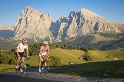 Mit dem Rennrad durch Südtirol