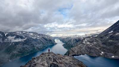 In 5 Tagen um den Jotunheimen in Norwegen