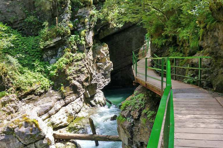 Wild gorges in southern Germany and northern Switzerland