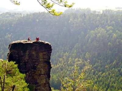 Ein Wochenende im Elbsandsteingebirge