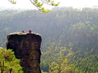 A Weekend In The Elbe Sandstone Mountains