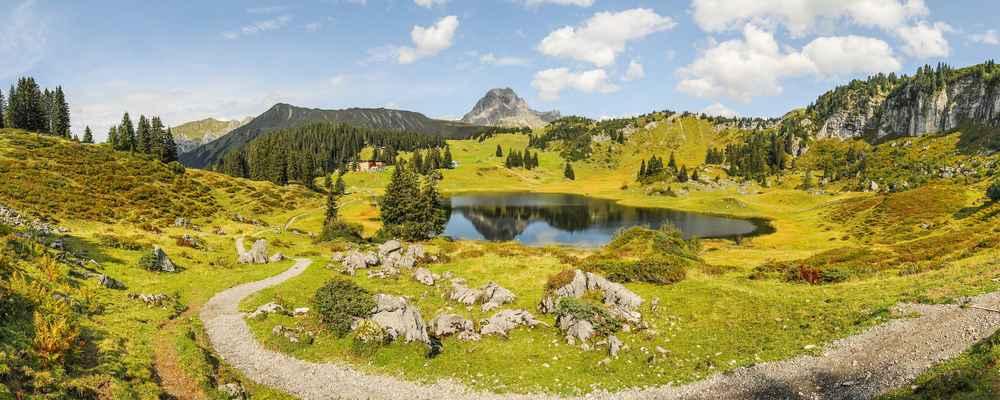 Sanfte Taler Steile Gipfel Wanderferien In Vorarlberg Wander