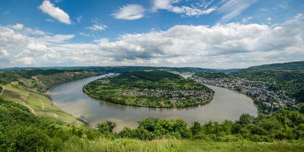 Der Rheinweg von Basel nach Bonn