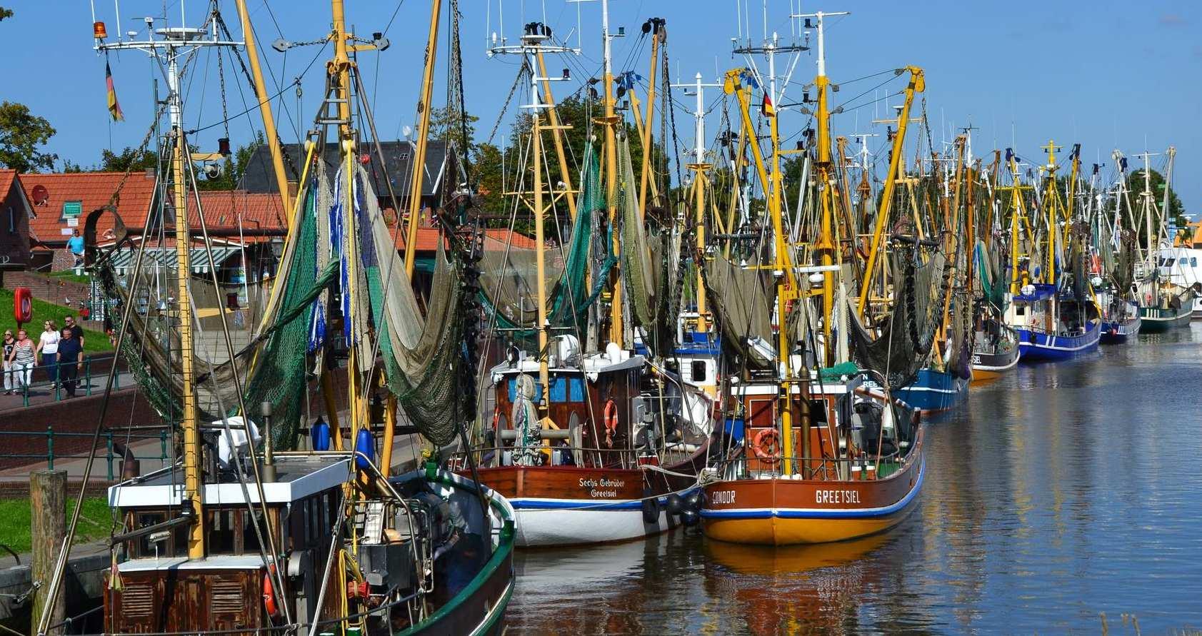 Malerische Fischerdörfer an der Nord- und Ostsee
