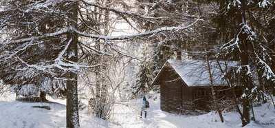 Waschechter Winter – Hüttentour im Fichtelgebirge