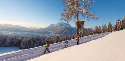 Winterzauber in Tirol - Touren im Schnee