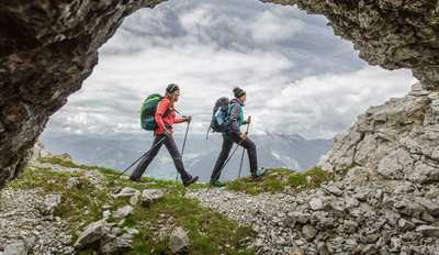 Zwischen Stein- und Grasbergen in Saalfelden Leogang