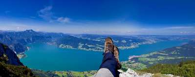 Hiking the Attersee Region – Up. Over. Down.