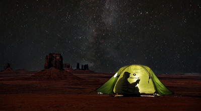 Spektakuläre Zeltplätze für 2017