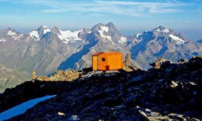 Auf einem anderen Level - Biwaks auf über 2.600 Metern