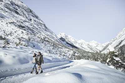 Schneeschuh- und Winterwandern in der Olympiaregion Seefeld