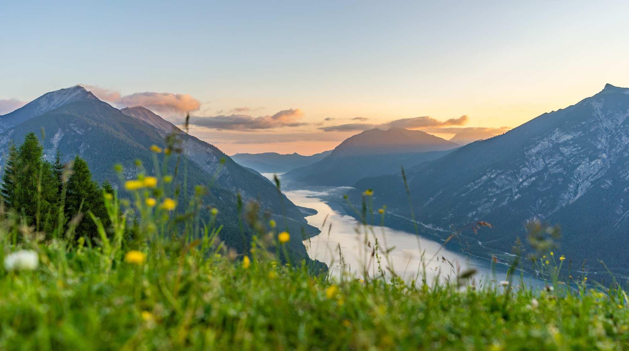 Grandiose Aussichten – Wandern am Tiroler Achensee