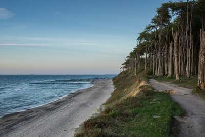 On the Baltic Sea Cycle Path from Wismar to Wolgast