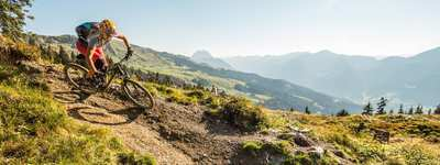 The most beautiful Tyrolean single trails in late summer
