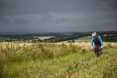 Auf Englands grünen Trails