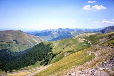 The most beautiful road bike passes of the Pyrenees