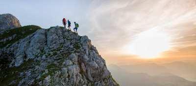 Gipfel erklimmen in St. Johann