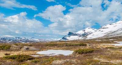 Eisige Gletscher und Endlose Weiten - Kungsleden Süd