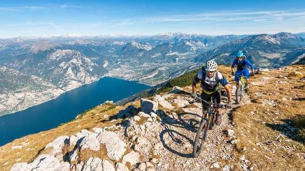 Mediterrane Bike Touren in alpiner Höhe