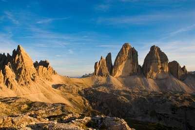 Trail love around the Tre Cime di Lavaredo