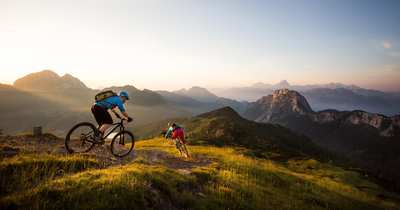 Biking at the sunny side of the Alps in Carinthia