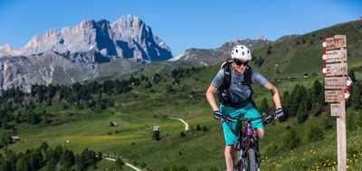 MTB Touren in den Südtiroler Dolomiten