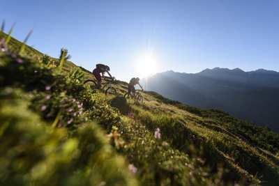 Knackige Trails und bunte Almwiesen - Mountainbiken am Arlberg