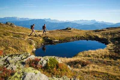 Genussvoll wandern am See in Kärnten