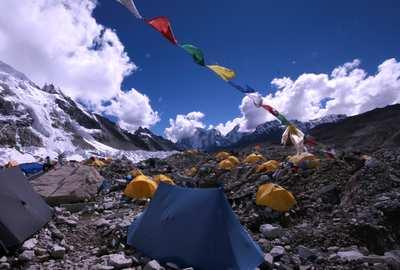 Trekking to Mt. Everest base camp